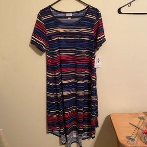 NWT LuLaRoe Carly dress large